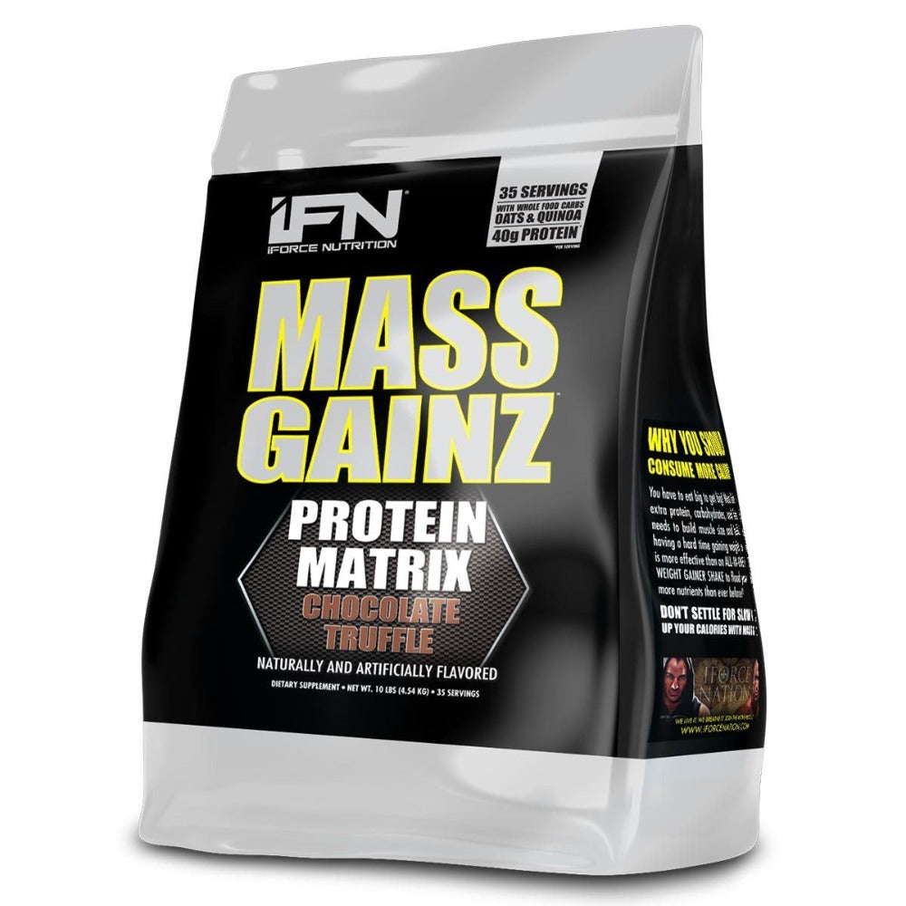 Mass Gainz 10 Lbs by iFORCE Sport Performance / Recovery IFORCE  (1059035938859)