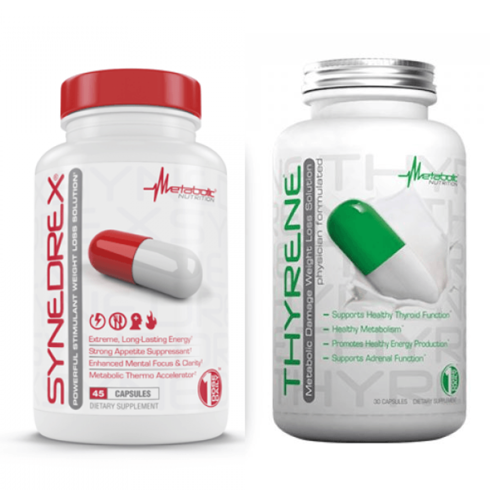 METABOLIC NUTRITION SYNEDREX & THYRENE STACK Diet/Energy Metabolic Nutrition  (1208771575851)