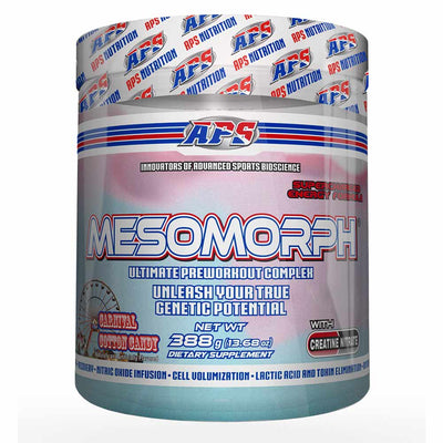 APS Nutrition Mesomorph Pre-Workout 388 Grams APS Nutrition Carnival Cotton Candy Flavor  (1058787360811)