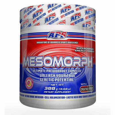 APS Nutrition Mesomorph Pre-Workout 388 Grams APS Nutrition Pink Lemonade  (1058787360811)