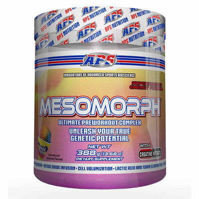 APS Nutrition Mesomorph Pre-Workout 388 Grams APS Nutrition Snow Cone  (1058787360811)