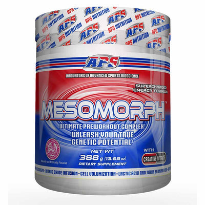 APS Nutrition Mesomorph Pre-Workout 388 Grams APS Nutrition Tropical Punch Flavor  (1058787360811)