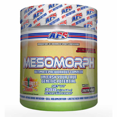 APS Nutrition Mesomorph Pre-Workout 388 Grams APS Nutrition Tutti Frutti Flavor  (1058787360811)