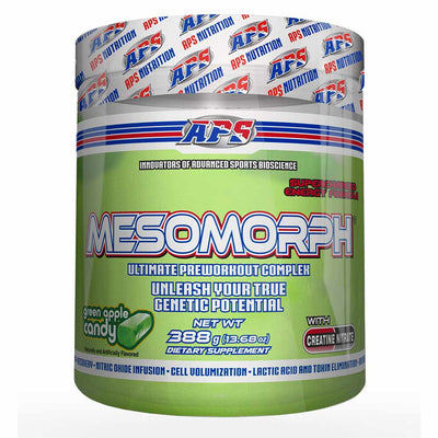 APS Nutrition Mesomorph Pre-Workout 388 Grams APS Nutrition Candy Apple  (1058787360811)