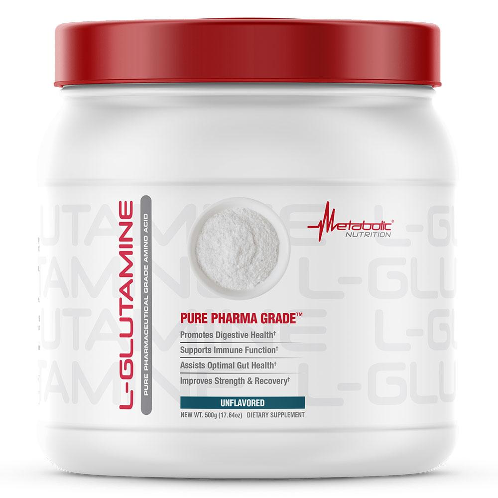 Metabolic Nutrition L-GLUTAMINE 500G Amino Acids Metabolic Nutrition