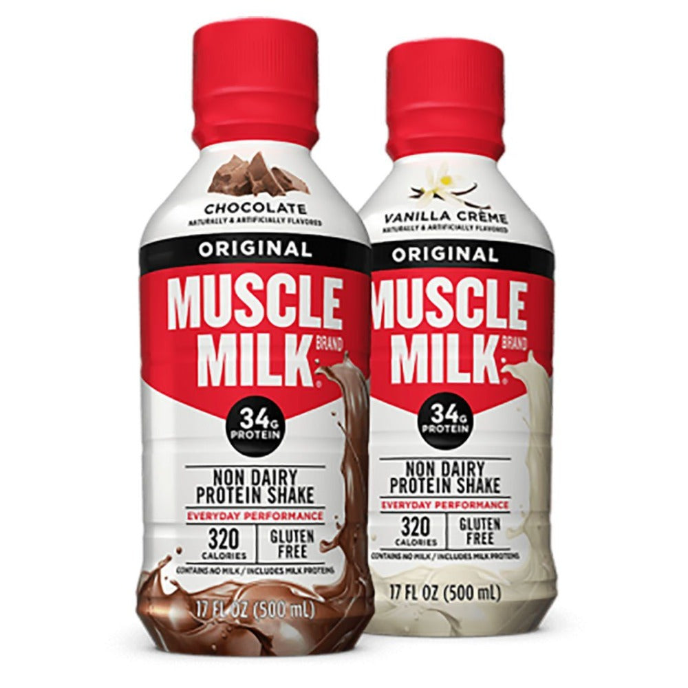 Muscle Milk RTD 17 oz 12/Case Protein CytoSport  (1058025668651)