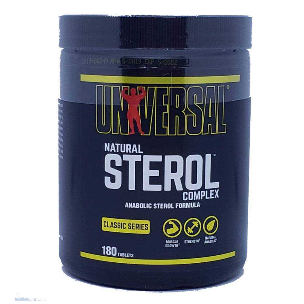 Universal Natural Sterol Complex 180 tabs Sport Performance / Recovery Universal  (1058622668843)