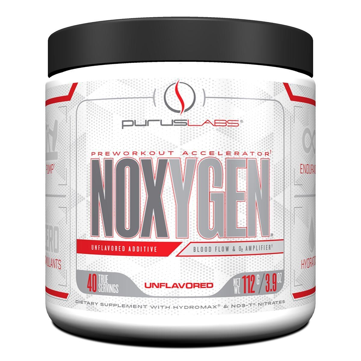 Purus Labs Noxygen Unflavored 40 Servings Sport Performance / Recovery Purus Labs  (1059045900331)