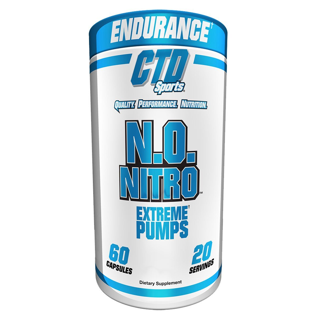 CTD Labs N.O. Nitro 60C Pre-workout CTD Labs  (1059205742635)