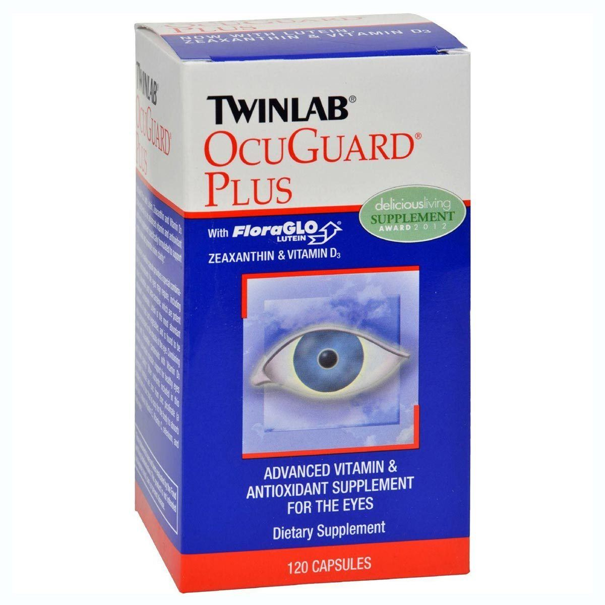 Twinlab Occuguard Plus w/ Lutein 120 Caps Other Supplements Twinlab  (1057883619371)