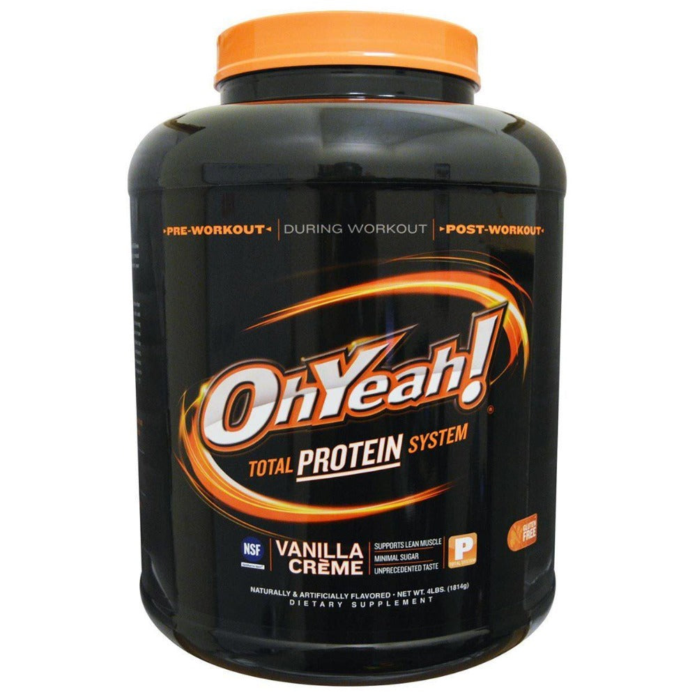 ISS Research OhYeah! Protein Powder 4 Lbs Protein ISS Research  (1058926886955)
