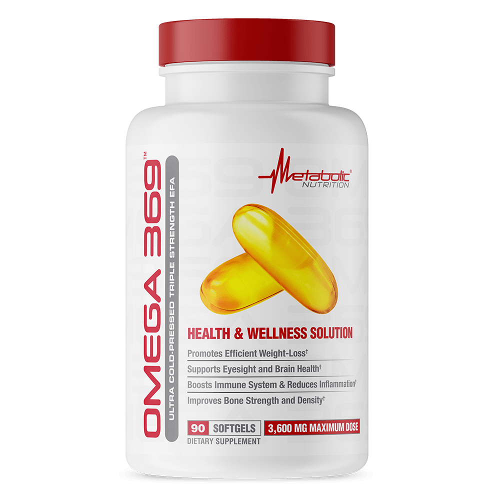 Metabolic Nutrition Omega 369 90 Softgels | Fatty Acids Essential Fatty Acids & - Oils Metabolic Nutrition  (1777825415211)