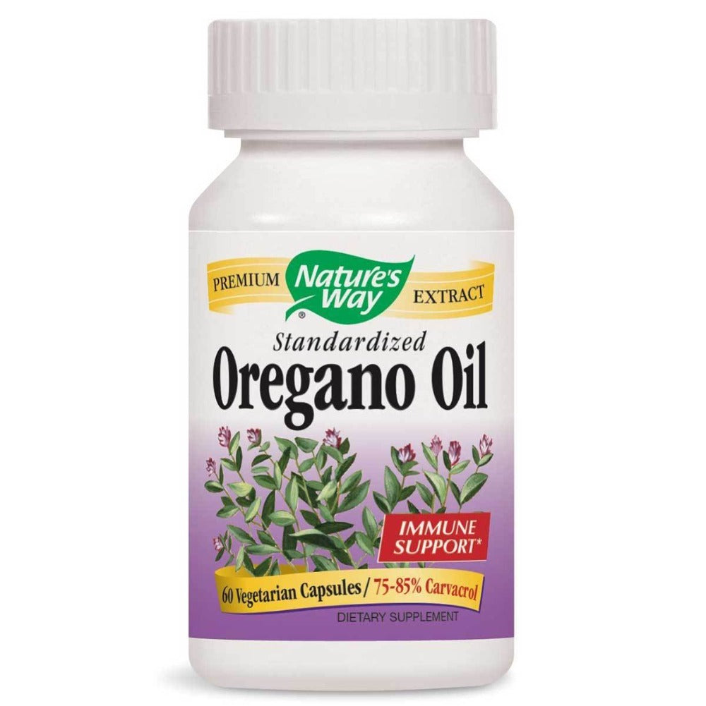 Nature's Way Oregano Oil 60 Vege Caps Herbs Nature's Way  (1058860793899)