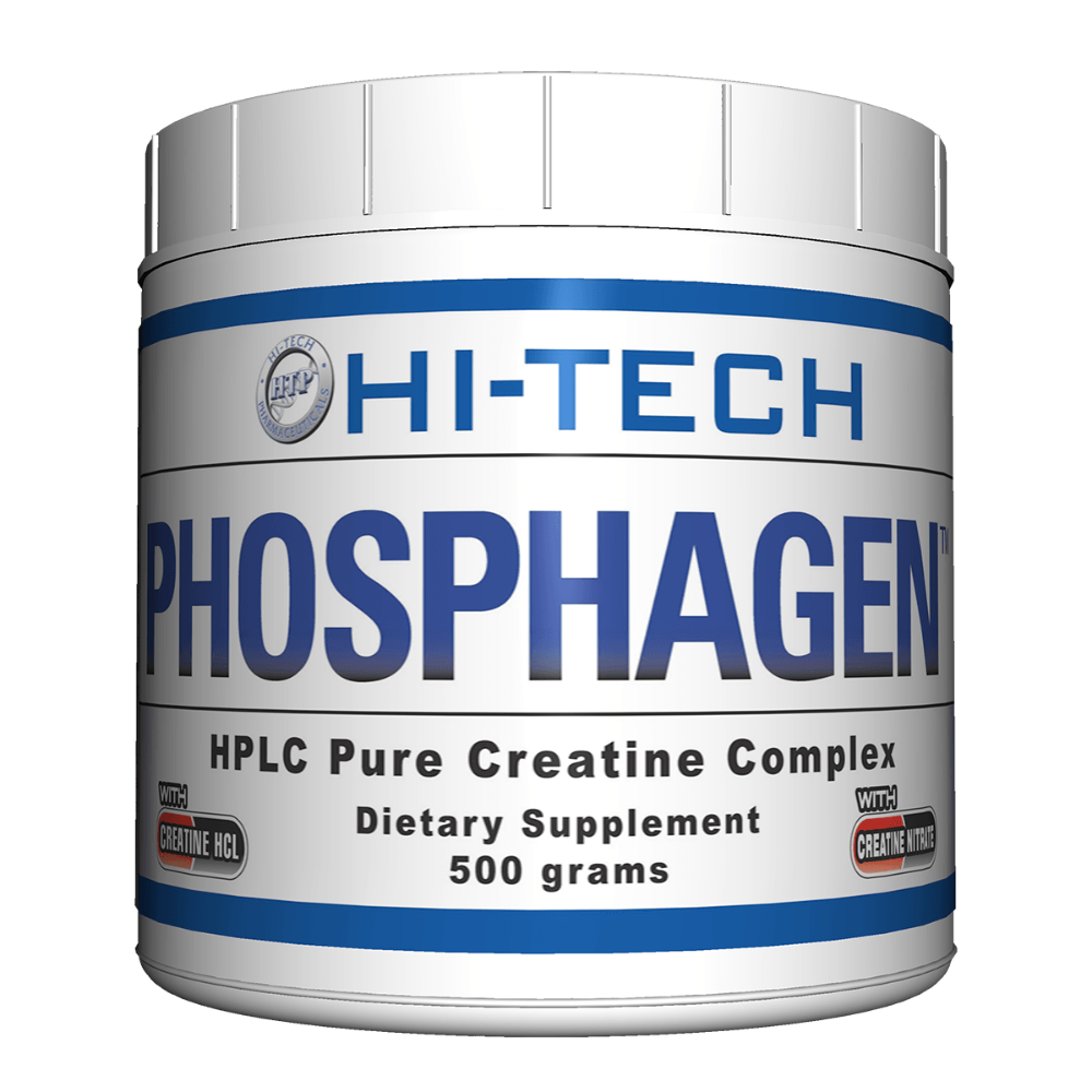 Hi-Tech Pharmaceuticals Phosphagen 500 Grams Creatine Hi-Tech Pharmaceuticals  (1059246702635)