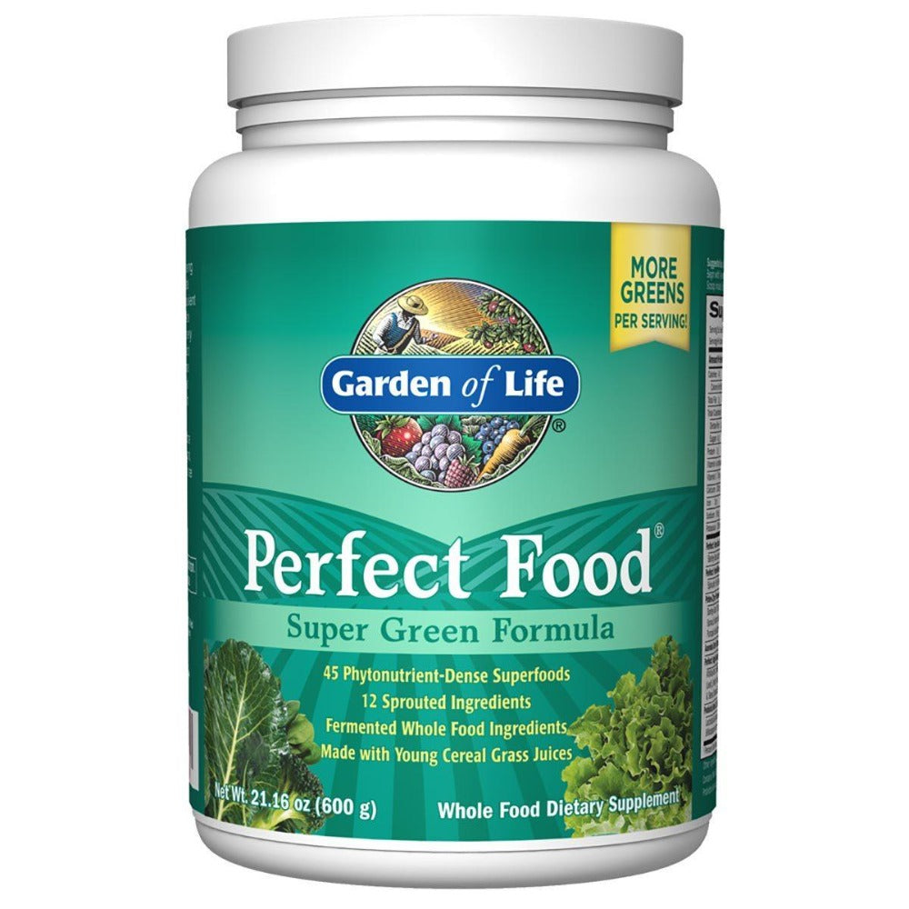Garden of Life Perfect Food Super Green Formula 600 grams Greens / Super Foods Garden of Life  (1057991589931)