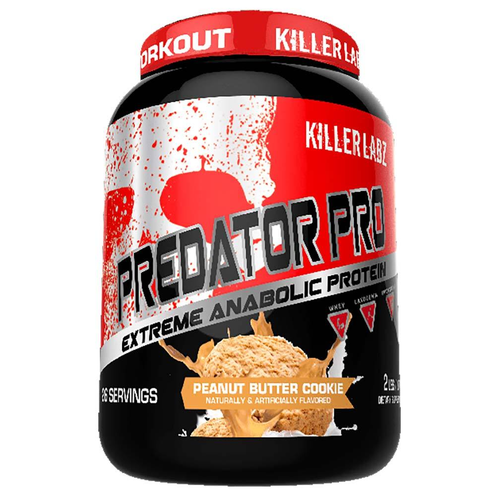 Killer Labz Predator Protein Pro Protein Powders Killer Labz PEANUT BUTTER COOKIE  (1582575616043)