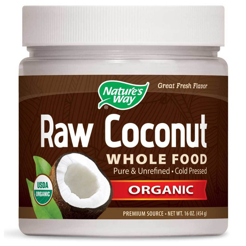 Nature's Way Raw Coconut 16 Oz Other Supplements Nature's Way  (1058945957931)