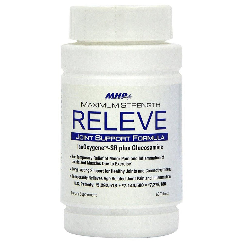 MHP Releve (IsoOxygene(tm)) Cox-2 Inhibitor 60 Tabs Joint Aids MHP  (1057969733675)
