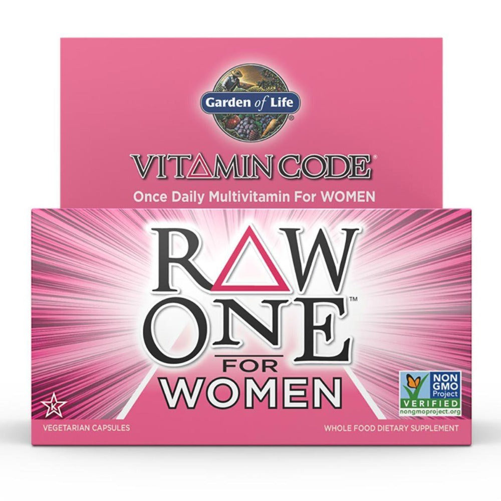 Garden of Life Vitamin Code Raw One for Women 75 Caps Vitamins Garden of Life  (1058593603627)