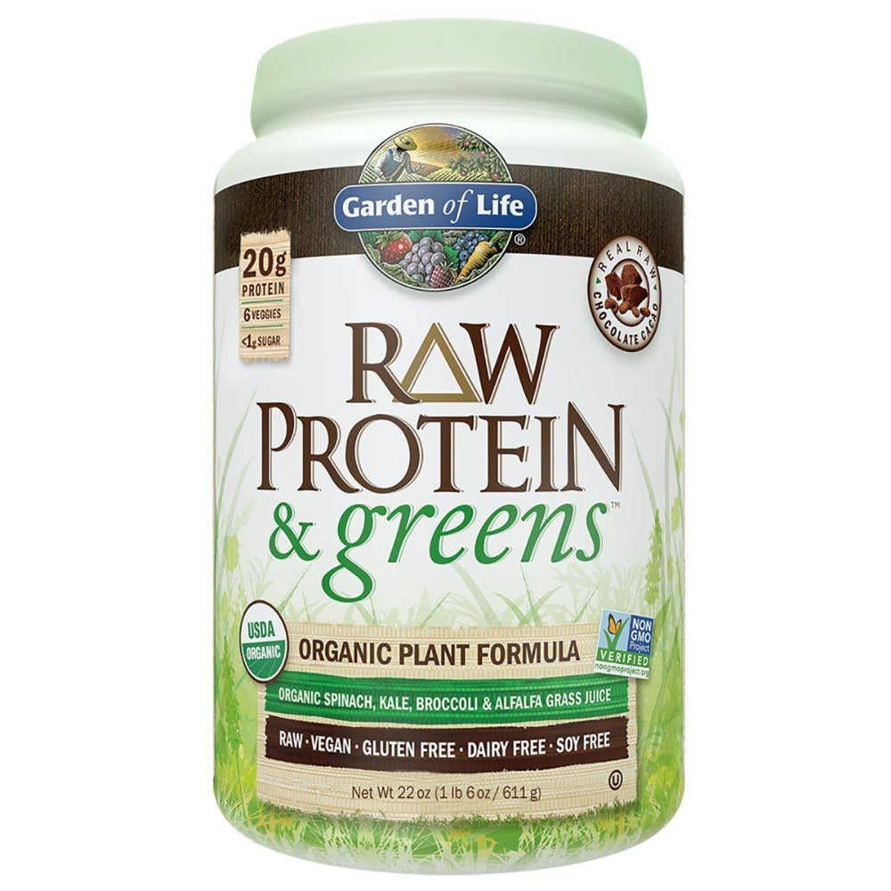 Garden of Life Raw Protein & Greens 1LBS Greens / Super Foods Garden of Life  (1059230449707)