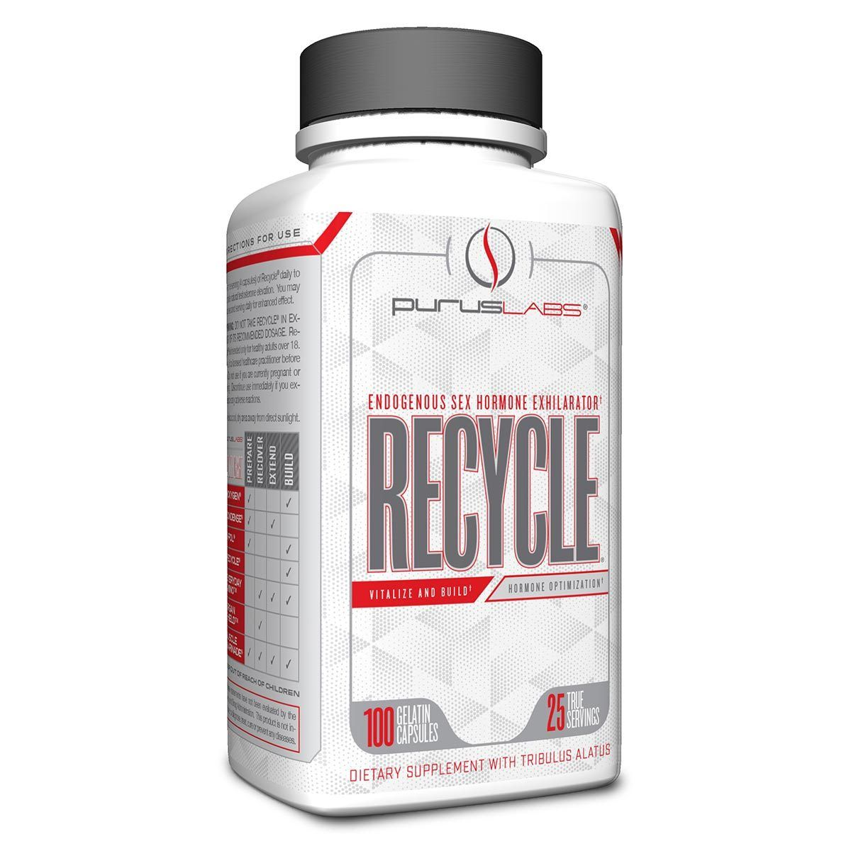 Purus Labs Recycle 100 Caps Testosterone Boosters Purus Labs  (1058838052907)