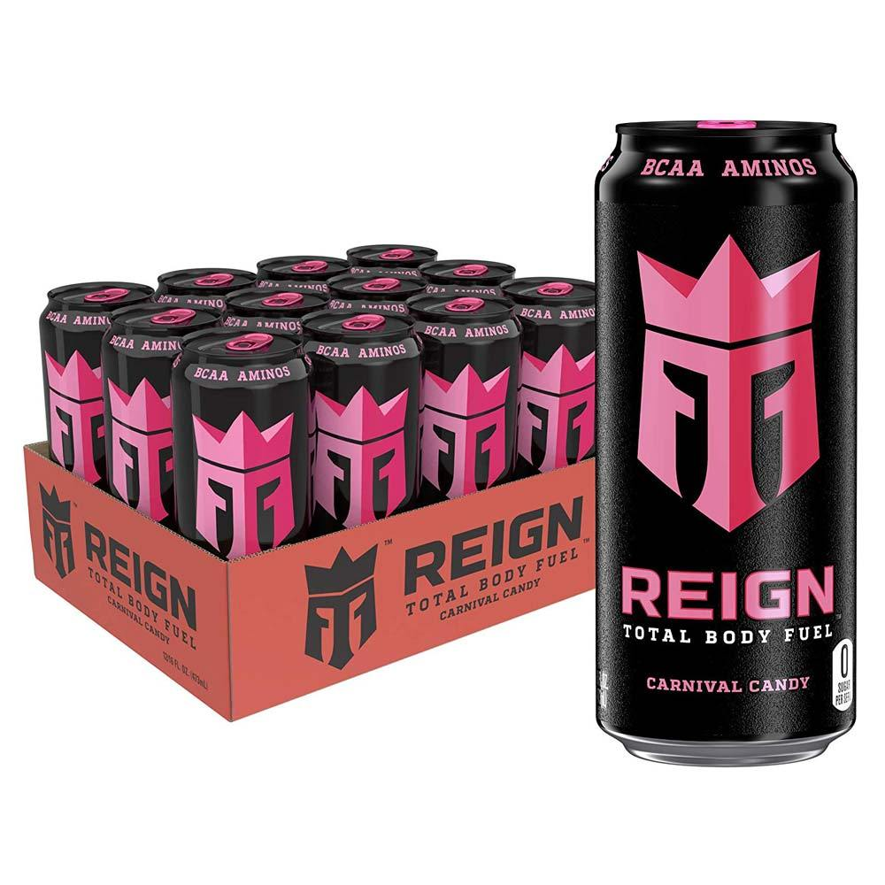 Monster Reign 12/Case Drinks Monster Carnival Candy  (4265068036139)