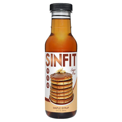 Sinfit Nutrition Pancake Syrup 12OZ Foods & Snacks Sinister Labs MAPLE MADNESS