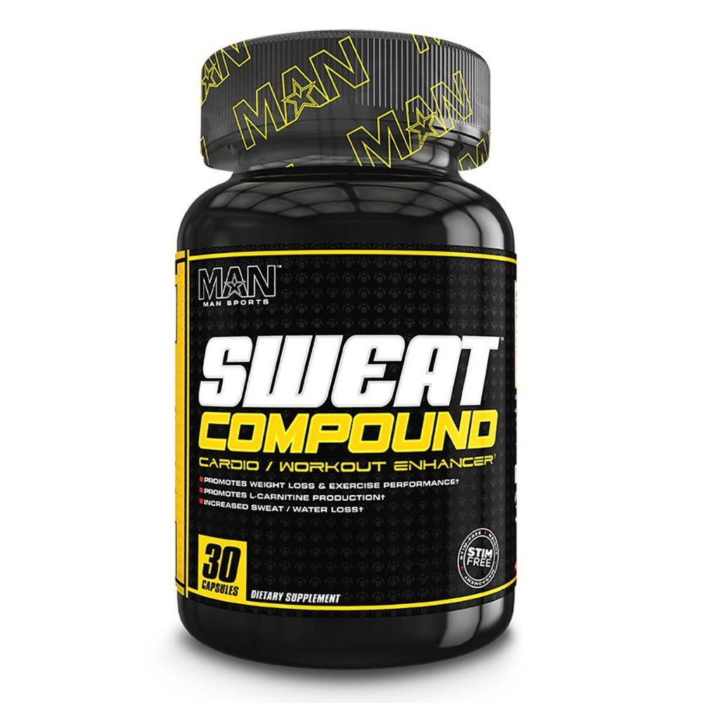 MAN Sports Sweat Compound 30 Caps Diet/Energy MAN  (1059346022443)