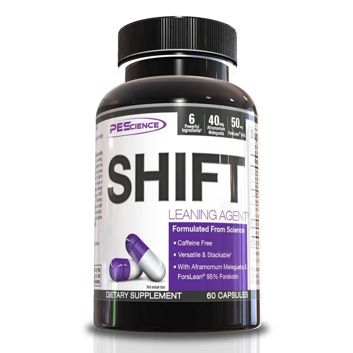 Physique Enhancing Science Shift 60 Caps Diet/Energy PEScience  (1059099770923)
