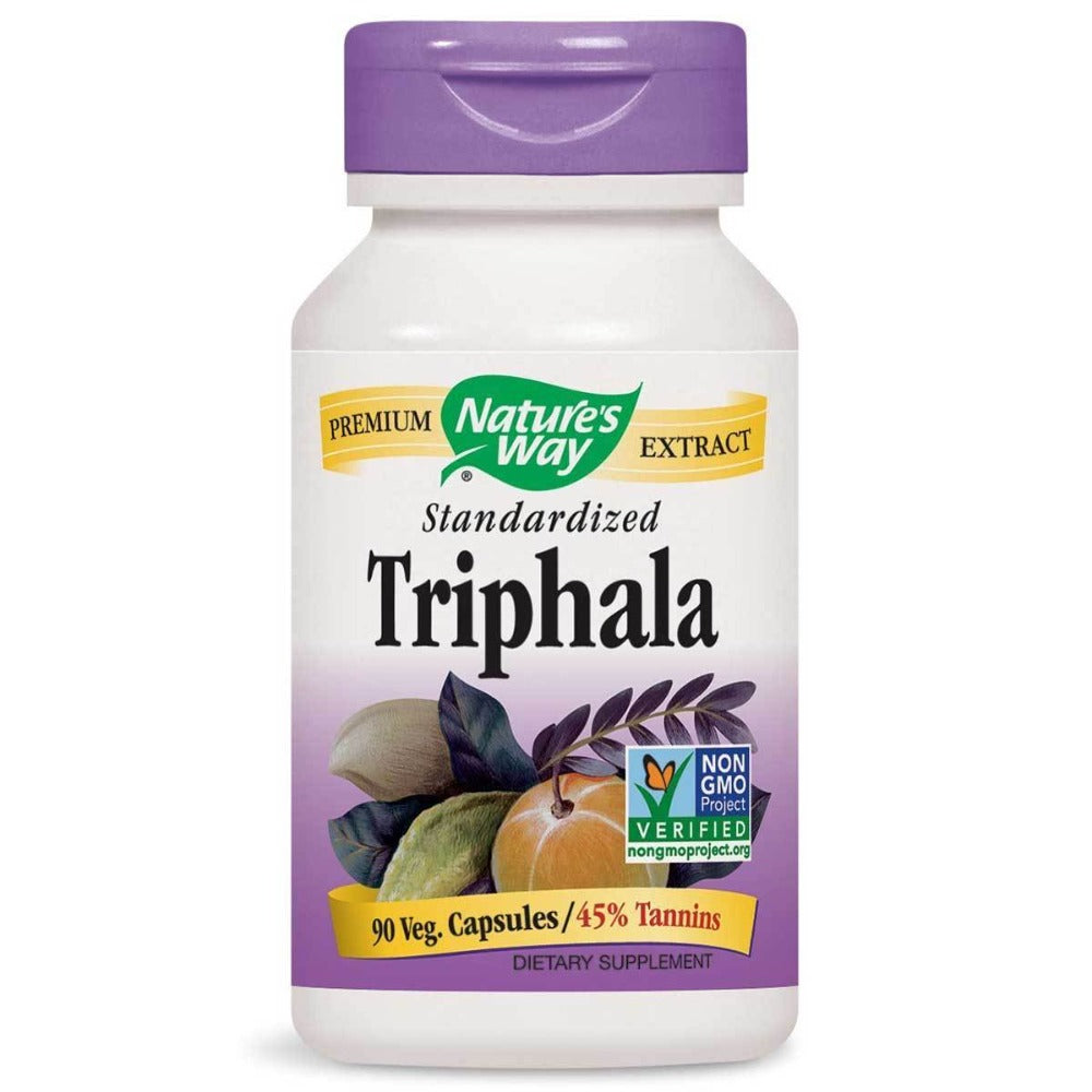 Nature's Way Triphala Extract Standardized 90 Vege Caps Herbs Nature's Way  (1058836316203)