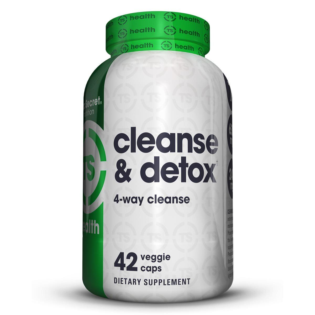 Top Secret Nutrition Cleanse & Detox 7-Day Formula 42 Caps Diet/Energy TOP SECRET NUTRITION  (1059308372011)