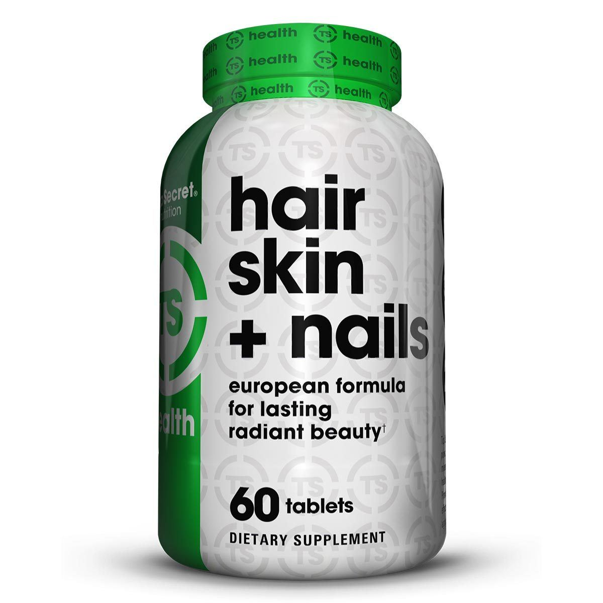 Top Secret Nutrition Hair Skin & Nails 60 Tabs TOP SECRET NUTRITION  (1059308470315)