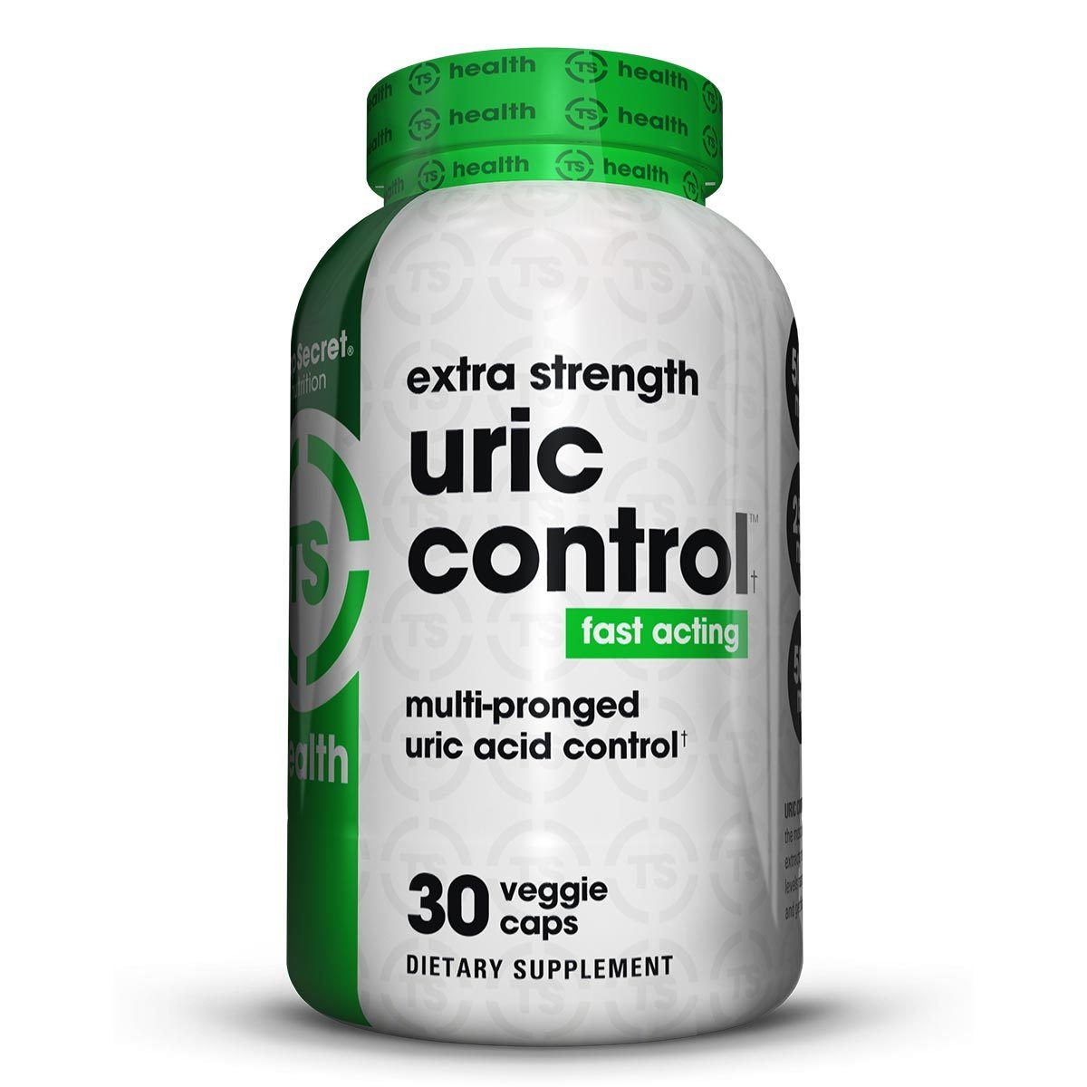 Top Secret Nutrition Uric Control 30 Caps Personal Care TOP SECRET NUTRITION  (1059308830763)