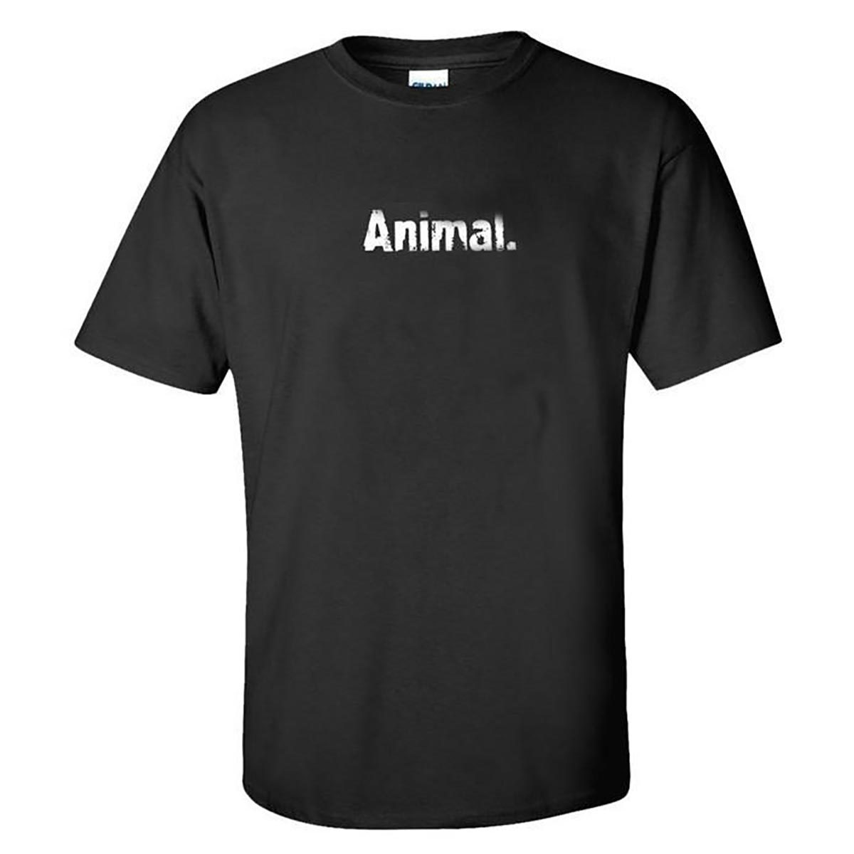 "Universal T-Shirt (Black) ""Animal"" XL Fitness Accessories and Apparel Universal  (1058022195243)"