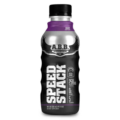 American BodyBuilding Speed Stack 12/Case Diet/Energy American BodyBuilding Grape  (1058320154667)