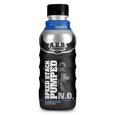 American BodyBuilding Speed Stack Pumped N.O. 12/CS Diet/Energy American BodyBuilding Blue Raspberry  (1058740666411)