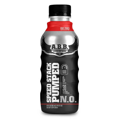 American BodyBuilding Speed Stack Pumped N.O. 12/CS Diet/Energy American BodyBuilding Fruit Punch  (1058740666411)