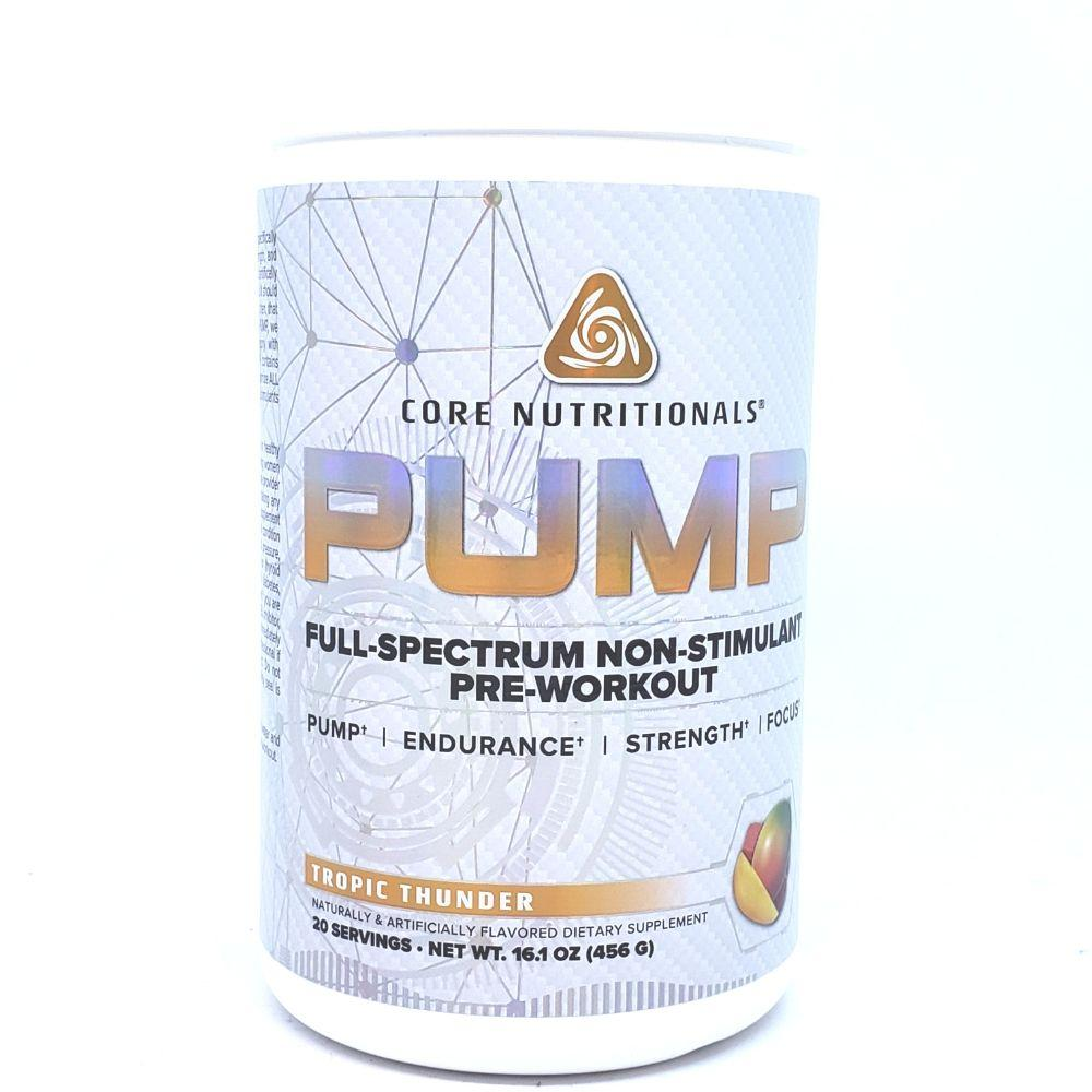 Core Nutritionals Pump 20 Servings Nitric Oxide Core Nutritionals Tropic Thunder  (4456696905793)