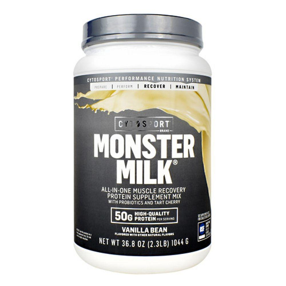 Cytosport Monster Milk 2.3lb Protein Powders CytoSport Vanilla Bean  (4447006392385)