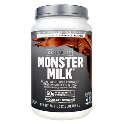 Cytosport Monster Milk 2.3lb Protein Powders CytoSport Chocolate Brownie  (4447006392385)