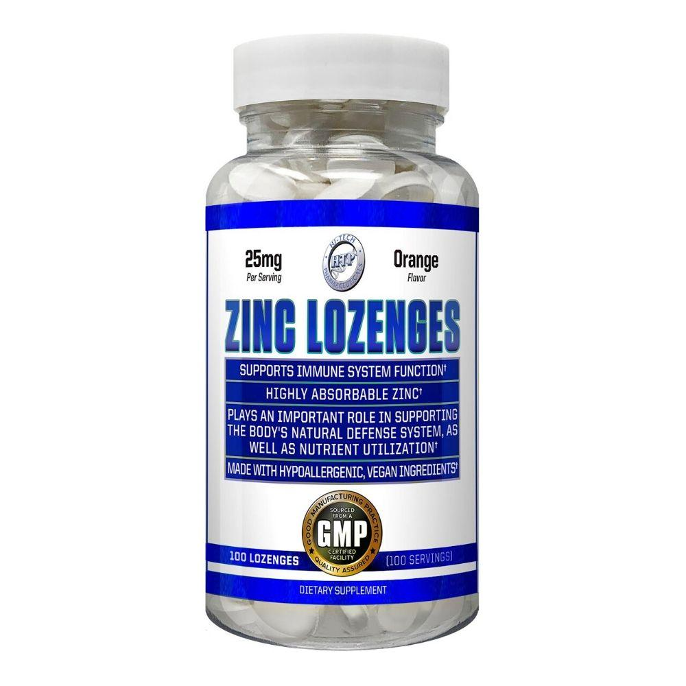 Hi-Tech Pharmaceuticals Zinc Lozenges 100ct Vitamins & Minerals Hi-Tech Pharmaceuticals  (4420115955777)