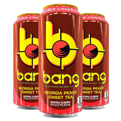 VPX Bang RTD 12/Case Diet/Energy VPX Peach Tea  (1058943205419)