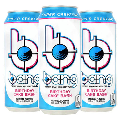 VPX Bang RTD 12/Case Diet/Energy VPX Birthday Cake  (1058943205419)