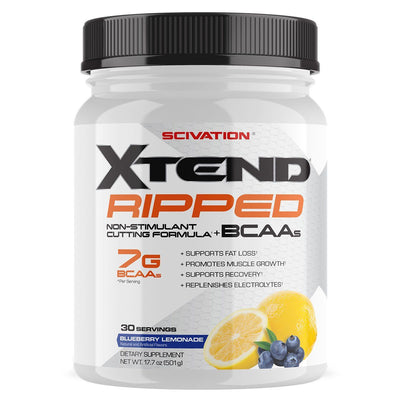 Scivation Xtend Ripped 30 Servings Amino Acids Scivation  (1197918126123)