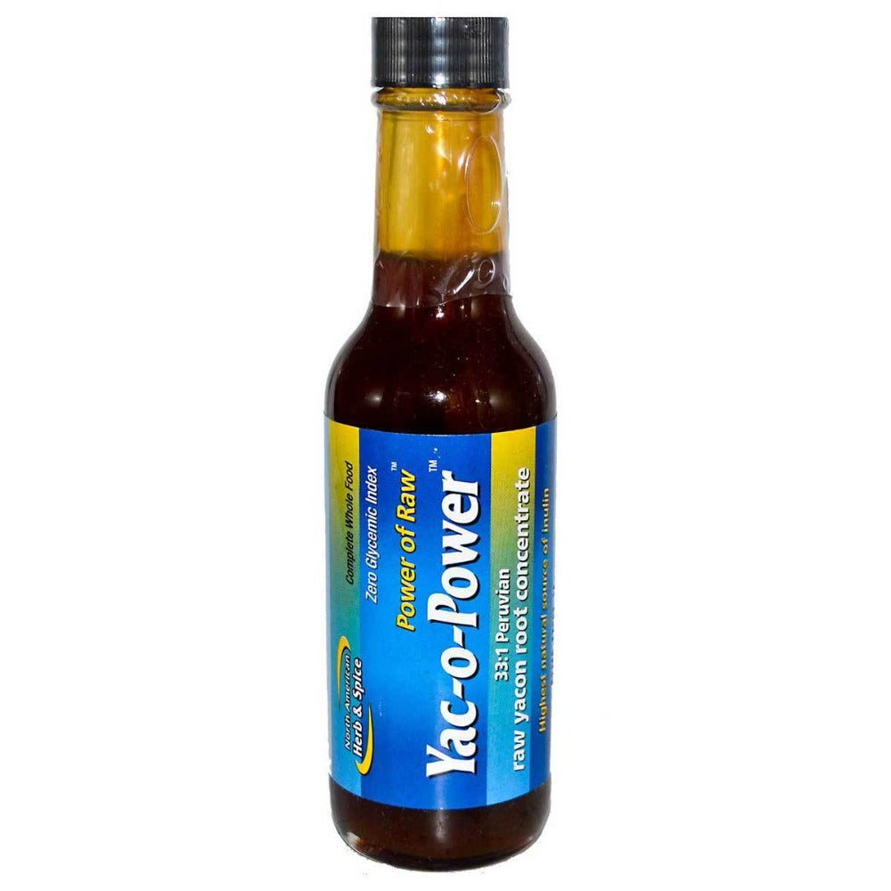 North American Herb & Spice Yac-O-Power Yacon Syrup 5 Oz North American Herb & Spice  (1059022635051)