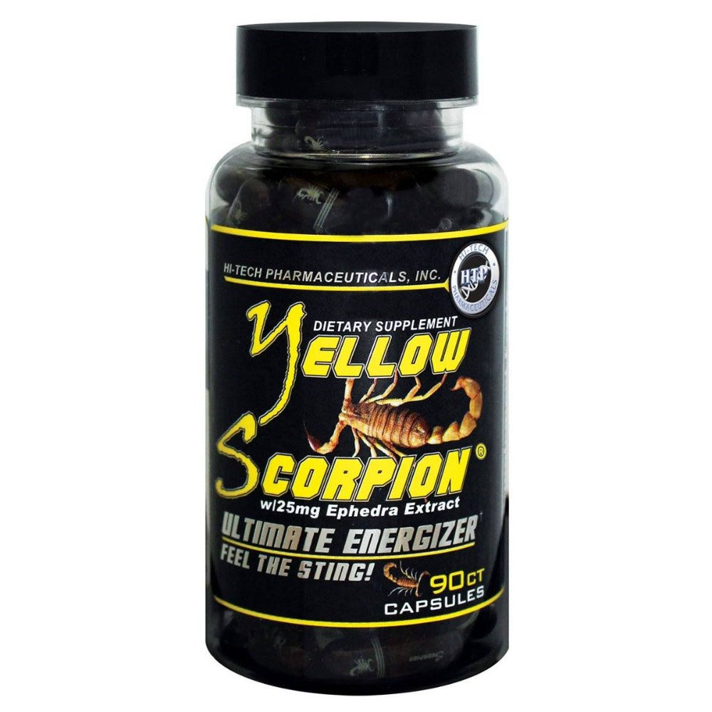 HITECH Pharmaceuticals YELLOW SCORPION 90C Diet/Energy Hi-Tech Pharmaceuticals  (1059307978795)