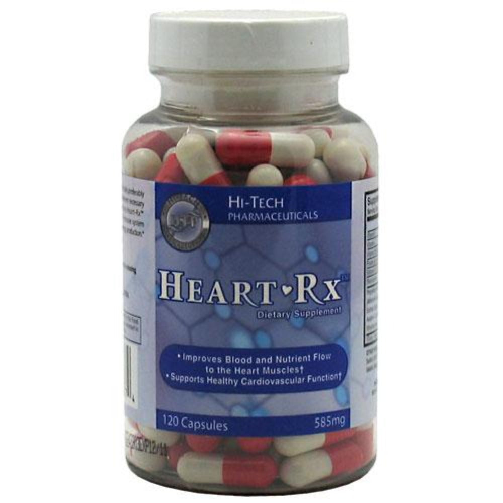 Hi-Tech Pharmaceuticals Heart-Rx 120 Caps Hi-Tech Pharmaceuticals  (1058984624171)