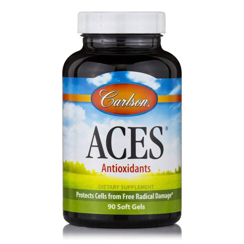 Carlson ACES 90 SoftGels Vitamins Carlson  (1058303934507)