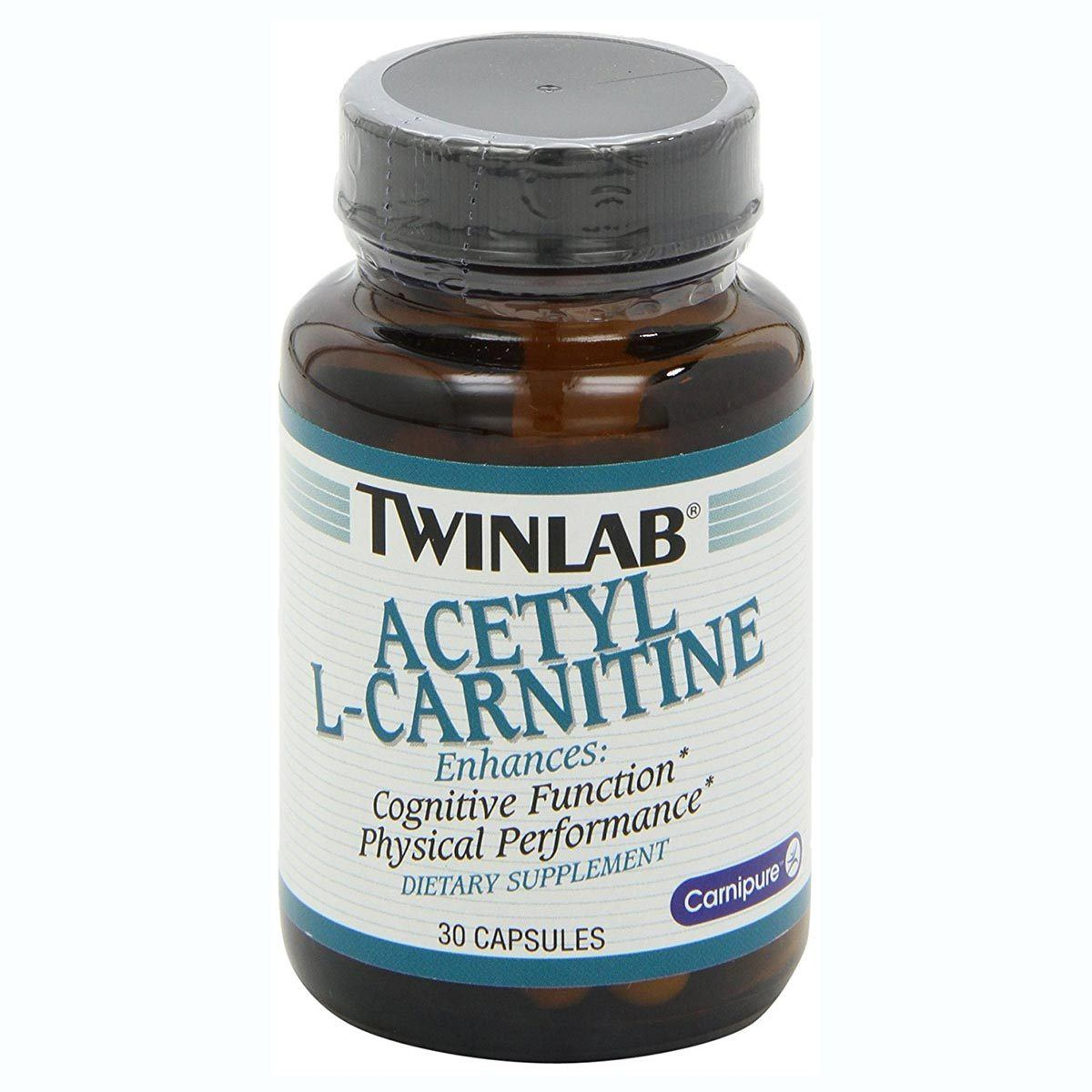 Twinlab Acetyl L-Carnitine 30 Capsules Amino Acids Twinlab  (1058621423659)