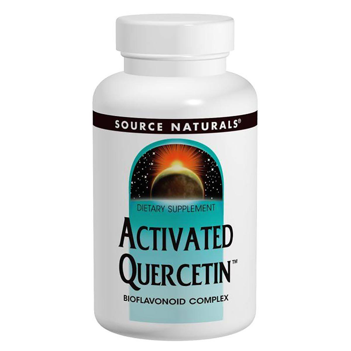Source Naturals Activated Quercetin 100 Caps Vitamins Source Naturals  (1058071838763)